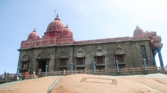 Vivekananda memorial in Kanyakumari.